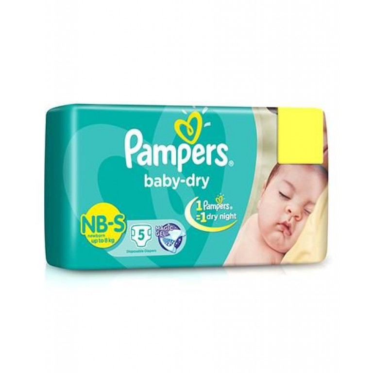 Pampers baby Pants NB-5 pants