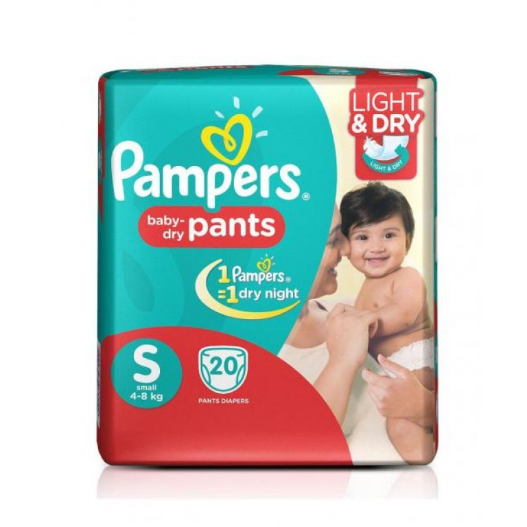 Pamper Baby Pants S-20