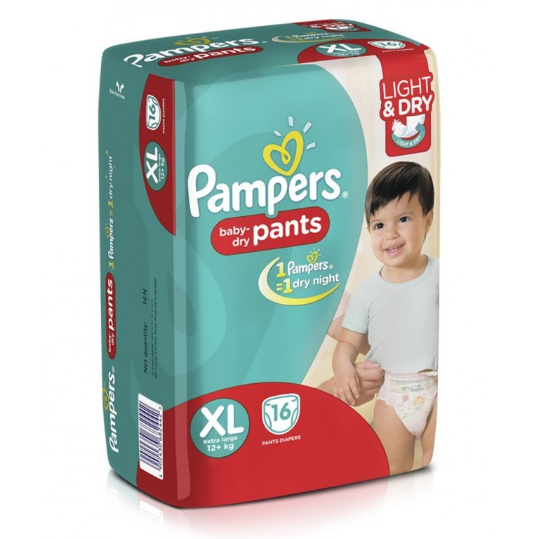 Pamper Baby Pants XL-16