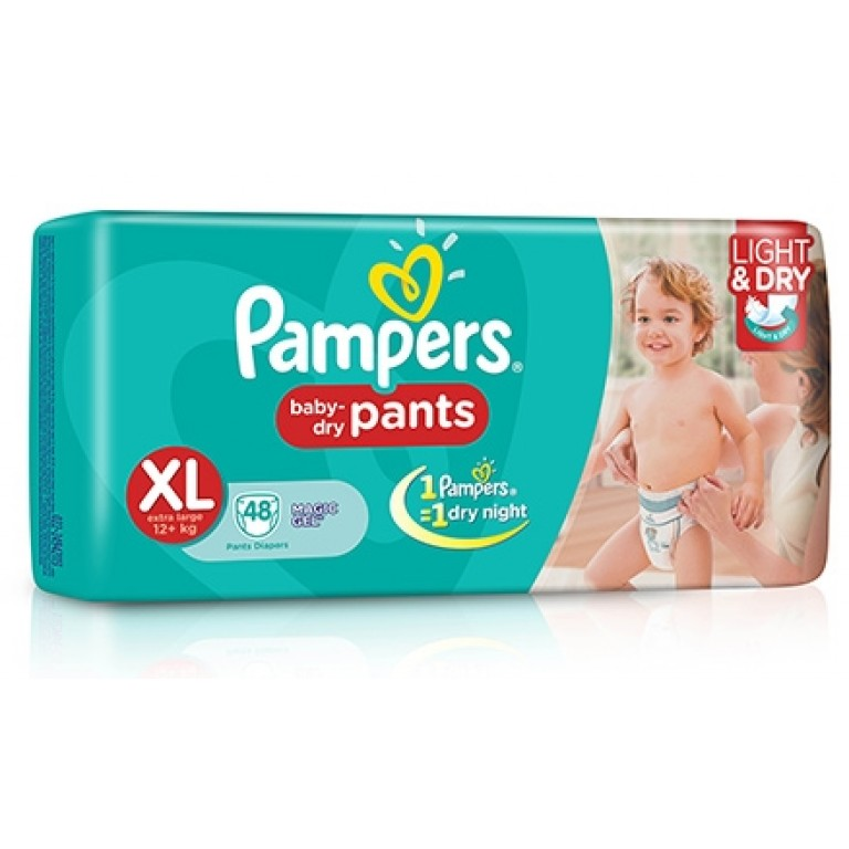Pampers pant XL-48