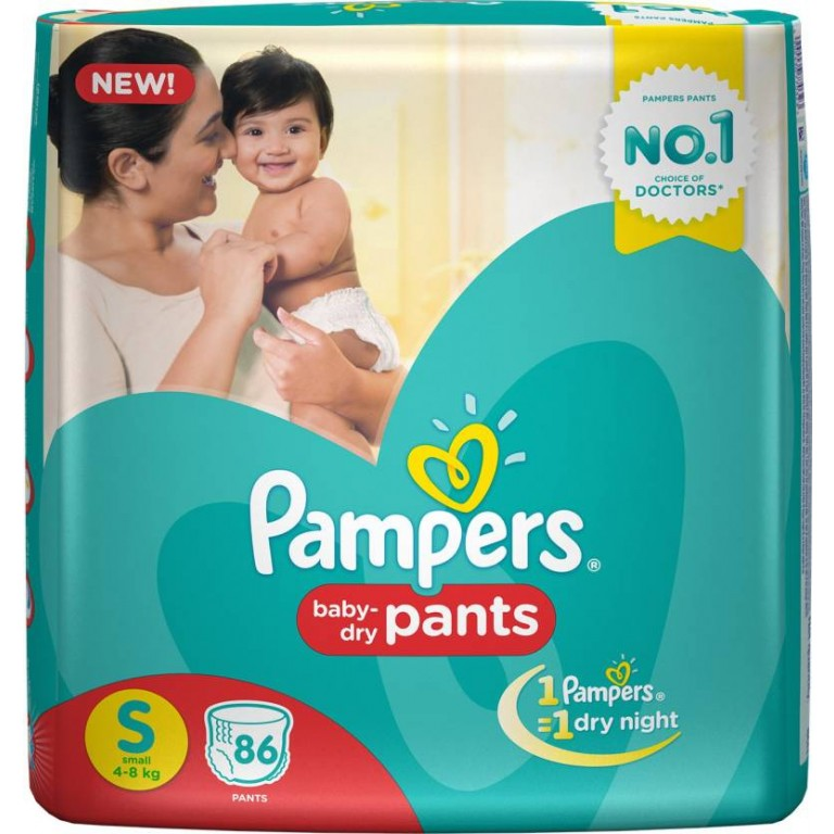 Pampers baby Pants S-86