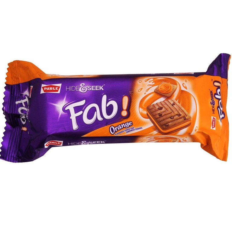 Parle Hide & Seek FAB orange 100g