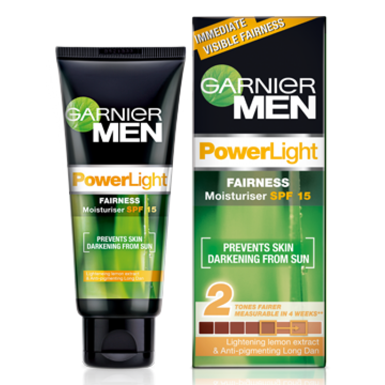 Garnier man power light moisture spf 15