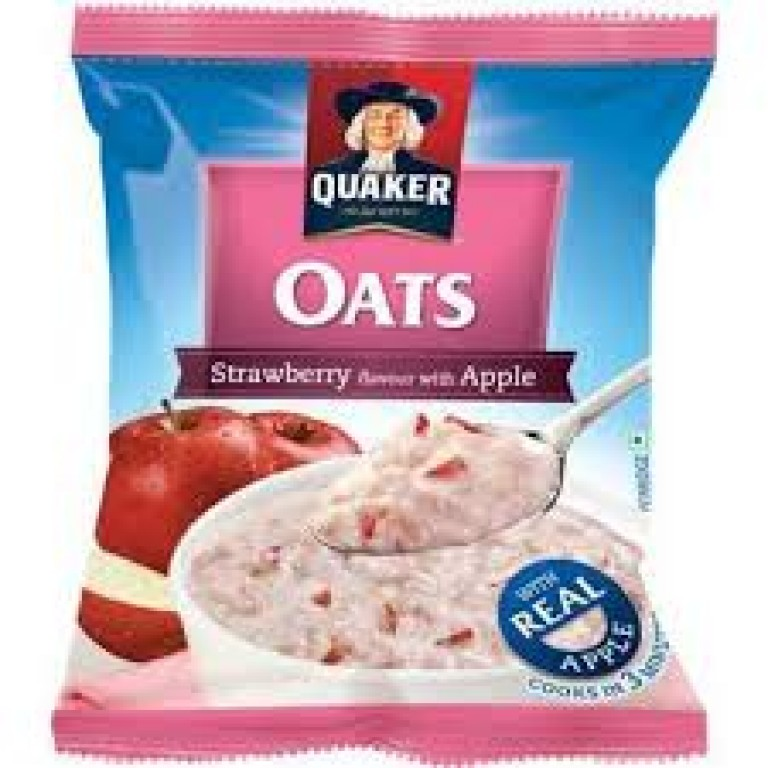 Quaker Oats Strawberry flavour with Apple 40g