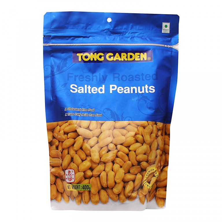 Tong Garden Freshly Roasted Salted Peanuts 400g