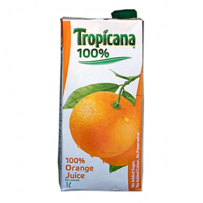 Tropicana 100% orange juice  1Ltr