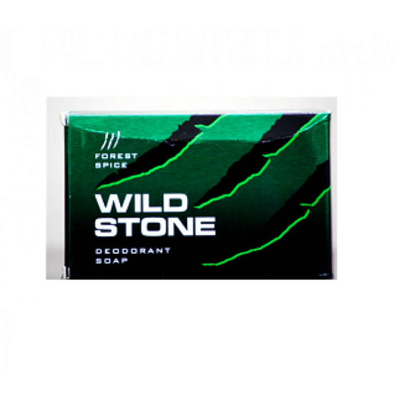 wild stone forest spice soap 75g
